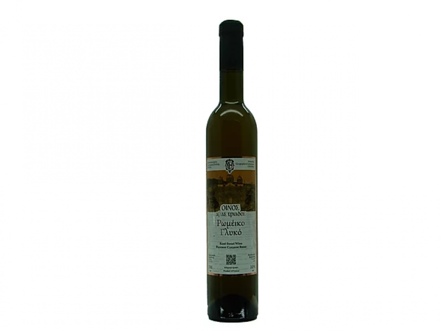 romeiko semi sweet wine agia triada