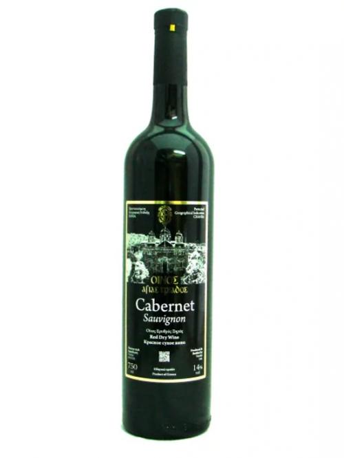 agia triada red cabernet-sauvignon wine